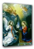 Reni, Guido: The Annunciation. Biblical/Religious Fine Art Canvas. Sizes: A3/A2/A1 (00153)